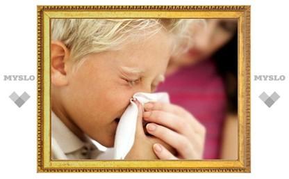 Дети стали чаще болеть гриппом