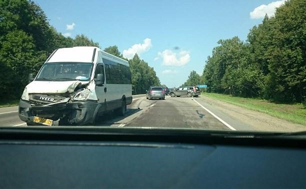 На развилке старой московской дороги и М-2 произошло ДТП