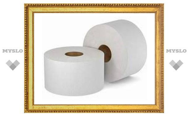 Тулу завалят туалетной бумагой