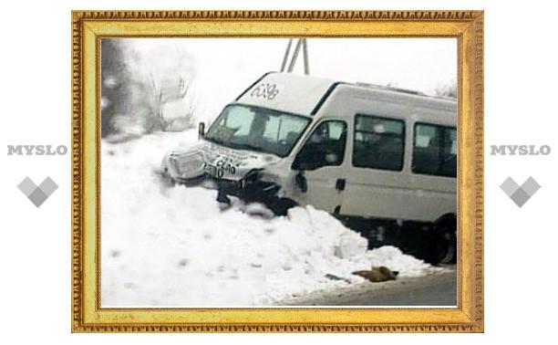 Под Тулой произошла еще одна серьезная авария
