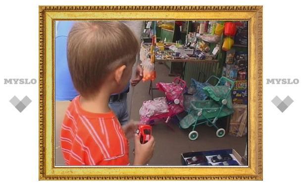 В Туле продавали ядовитые игрушки