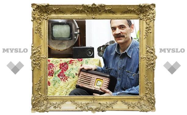 Новомосковец открыл музей радио
