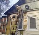 В Кимовском районе сжигавший мусор хозяин спалил собственный дом