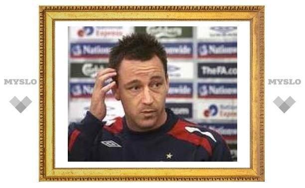 Капитан сборной Англии получил травму на последней тренировке