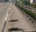 Мост через ул. Рязанскую на въезде в Тулу зияет дырами