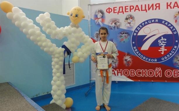 Тульская каратистка стала бронзовым призером в Иваново
