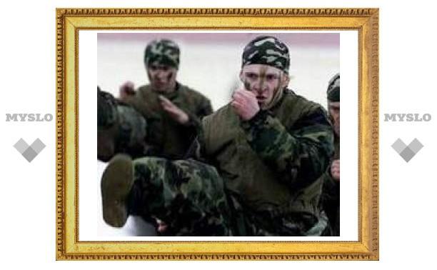 Туляков отправили служить в спецназ