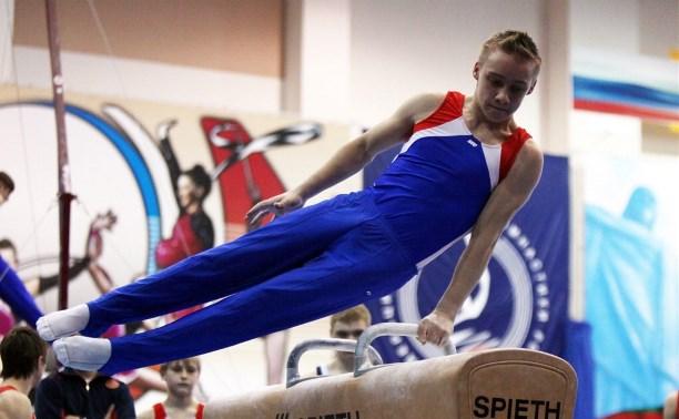 Ефремовский гимнаст Дмитрий Говоров отлично выступил в Грузии