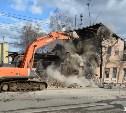 Собственник снесенного на Октябрьской памятника архитектуры готов заново отстроить здание
