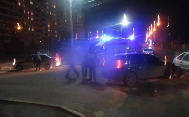 В Туле в ДТП на ул. Пролетарской пострадала девушка