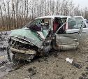 В жестком ДТП на трассе М2 в Туле пострадали два человека
