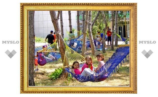 Лагерь «Дружба» ждет юных туляков