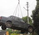 В Туле с начала года эвакуировано 12 брошенных автомобилей