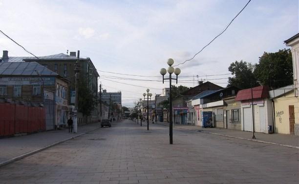 В администрации Тулы отказались от идеи сделать ул. Каминского пешеходной