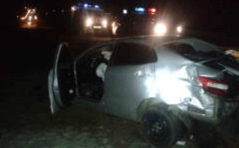 Ночью в Щекинском районе разбился водитель «Киа»