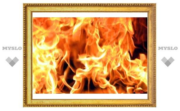 Под Тулой курение стало причиной пожара
