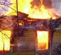 Во время пожара в Алексинском районе погибла женщина