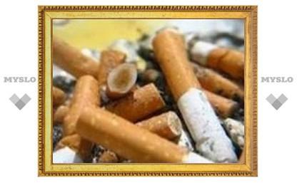 В Туле бомж загорелся от сигареты