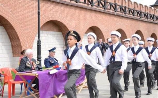 В Туле прошел финал Х юбилейного парада юнармейских отрядов