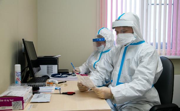 Показатели заболеваемости коронавирусом в Тульской области остаются высокими