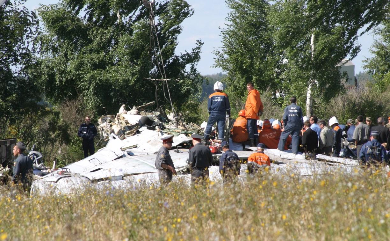 13 лет назад в небе над Тульской областью взорвали самолет: архивный фоторепортаж