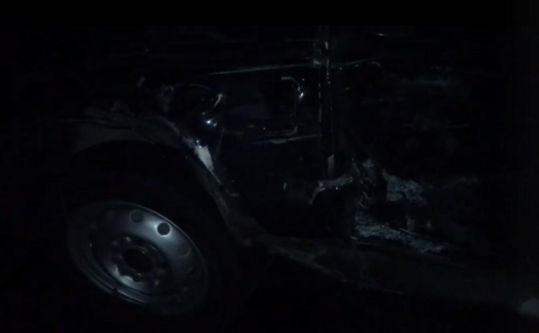 Под Тулой «Нива» столкнулась с грузовиком