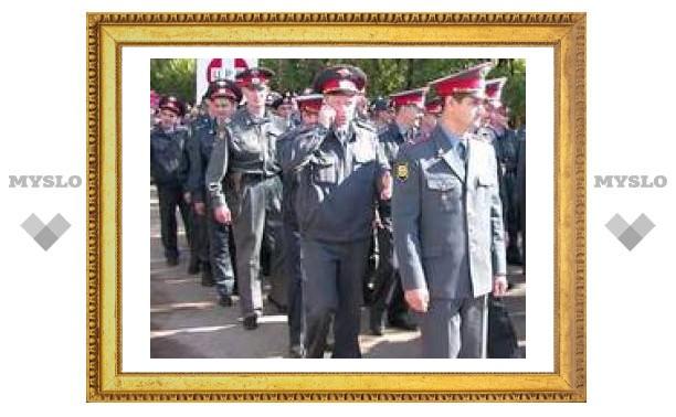 Тульские милиционеры уехали на Кавказ