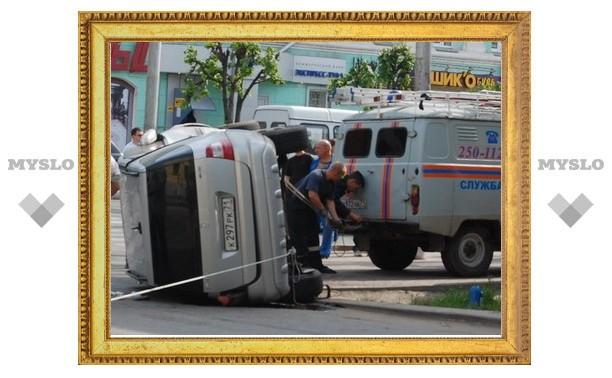 В центре Тулы произошла страшная авария