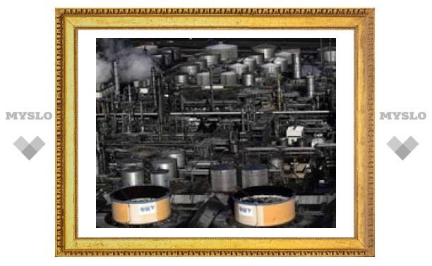Цена на нефть превысила 46 долларов за баррель