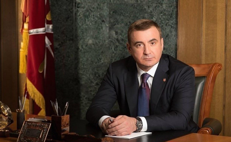 Алексей Дюмин поздравил туляков с Днем знаний