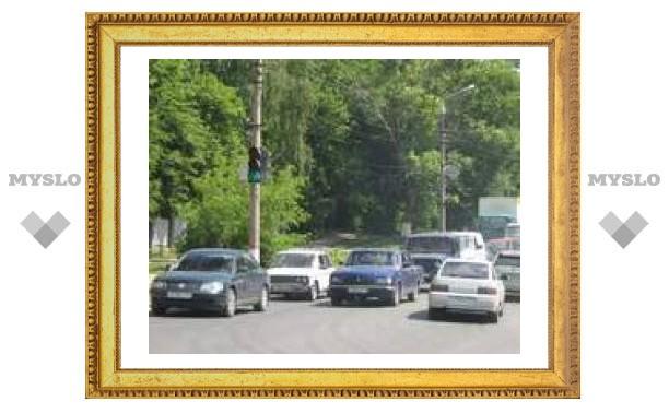 Новый светофор в Туле - причина пробок