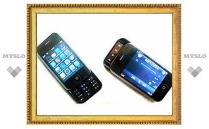 Китайцы скрестили Nokia N96 c Apple iPhone