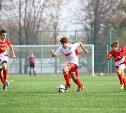 Определились финалисты юношеского турнира по футболу