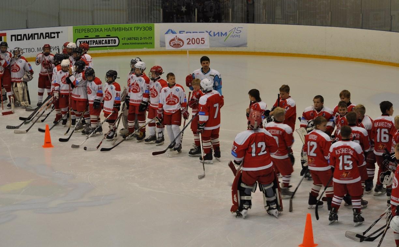 Команда «Виктория» отметит Всероссийский день хоккея