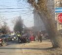 В Туле в ДТП на пересечении улиц Пушкинской и Тургеневской пострадали четверо