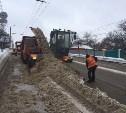 Для уборки снега задействовали 96 единиц техники