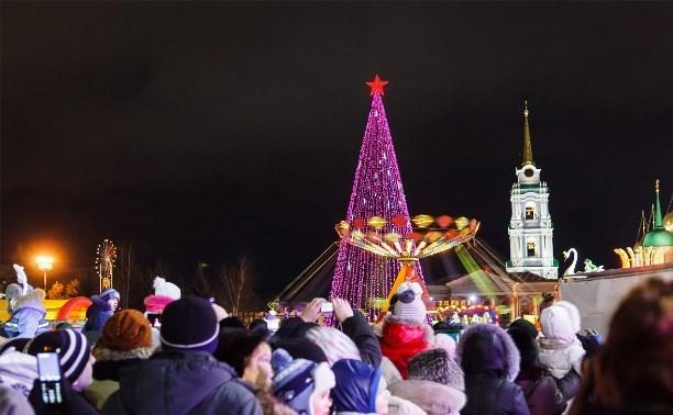 В новогодние праздники в центре Тулы ограничат движение и парковку