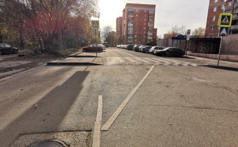 Туляк о пешеходном переходе на ул. Прокудина: «Выглядит очень странно и может стать причиной ДТП»