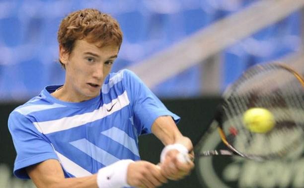 Тульский теннисист проиграл на старте турнира в Чехии