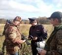 Сотрудники тульской Росгвардии проводят рейд «Охотник»