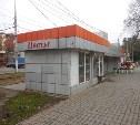 Возле рынка «Салют» предприниматель незаконно поставил торговый павильон