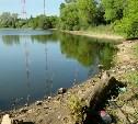 Менделеевский пруд в Туле погряз в мусоре