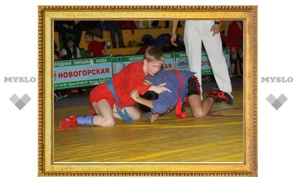 Юные тульские самбисты - лучшие в России!