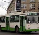 Зареченские троллейбусы временно меняют маршрут