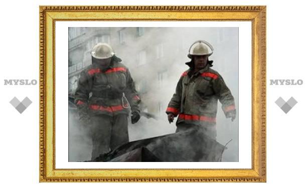 В Туле имущество превращается в пепел
