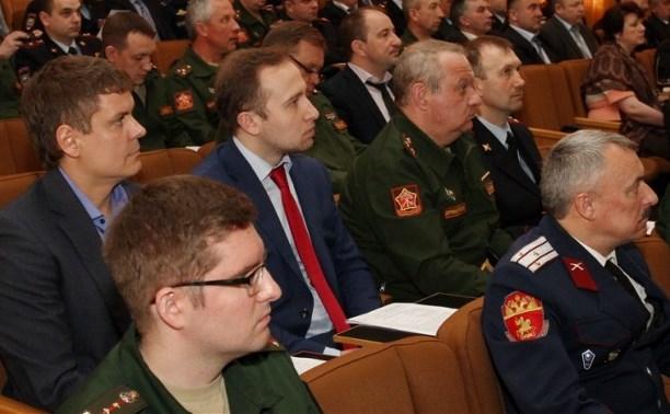 В Тульской области подвели итоги призыва на военную службу в 2015 году
