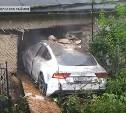 В Орловской области туляк на «Ауди» проломил три стены жилого дома
