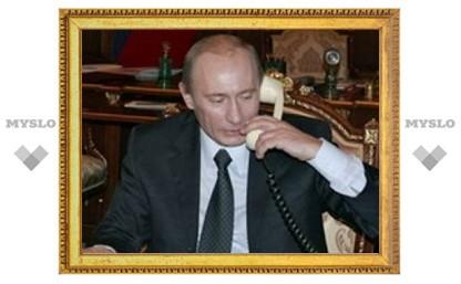 Медведев и Путин поздравили хоккейную сборную с победой