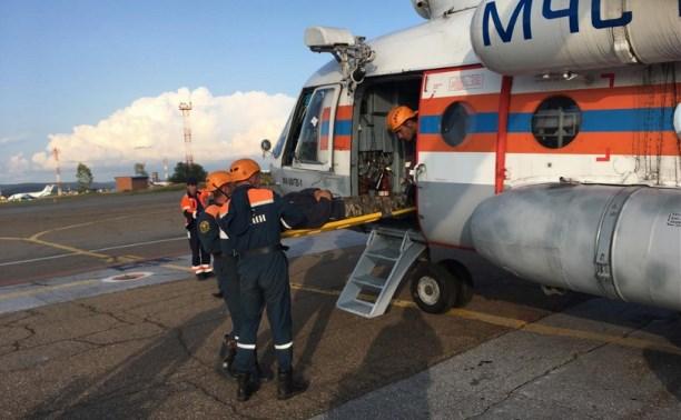 Тульские сотрудники МЧС спасли туриста в Бурятии