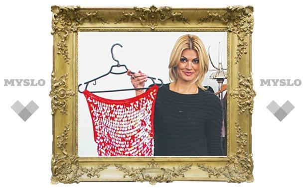 В Туле Ирине Круг подарили платье за тысячу долларов